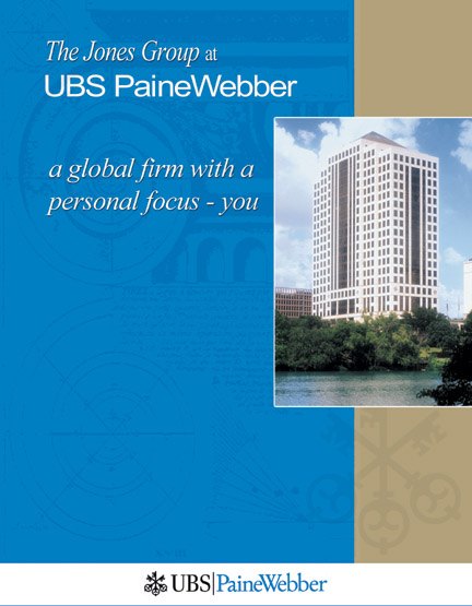 UBS PaineWebber Booklet cover